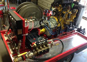 T Series pump systems were designed, assembled, and tested at the 17 Machinery facility in Hayes, Virginia.